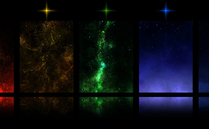 7色の星空