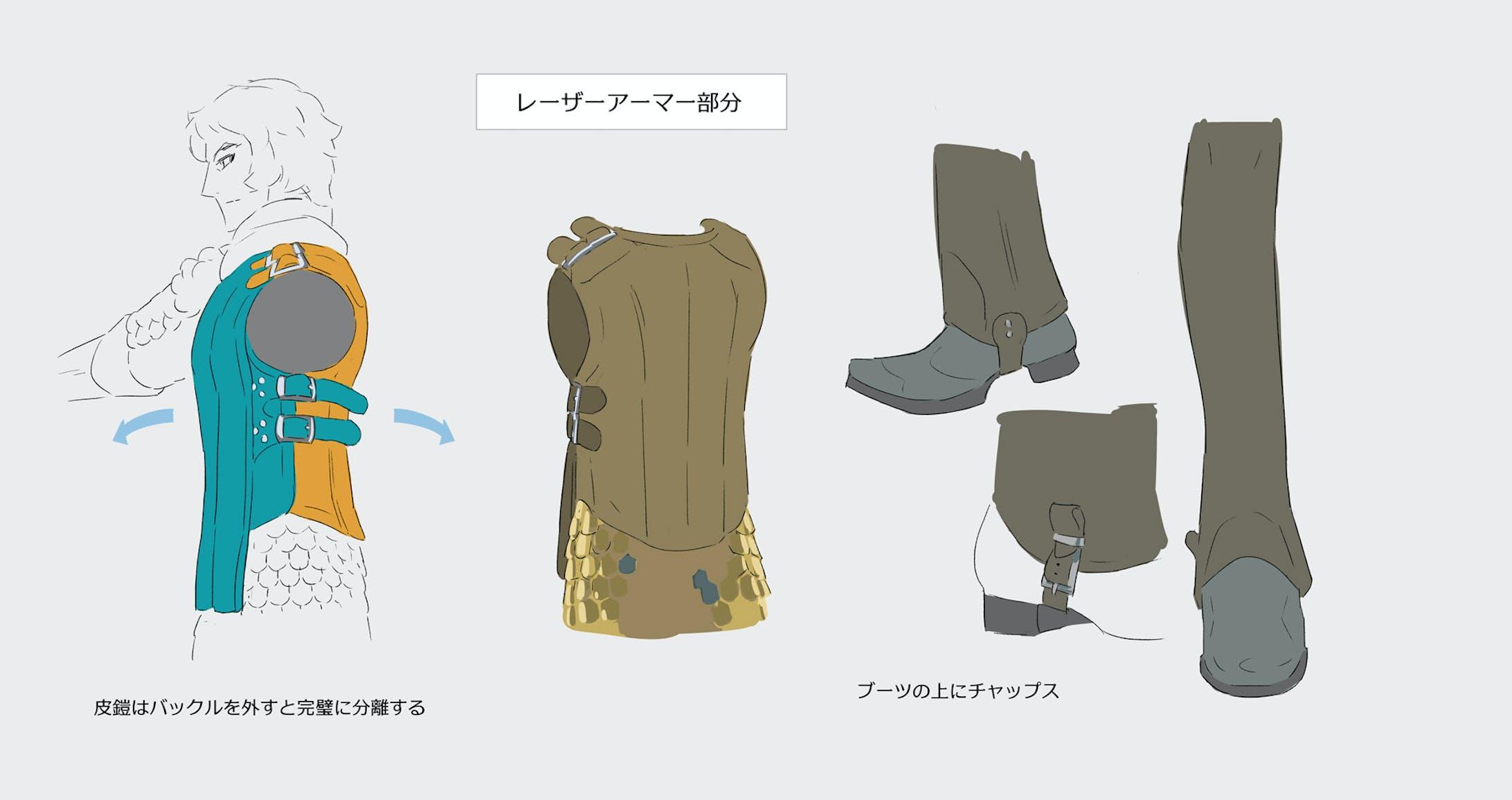 キャラクター全身・設定図-3