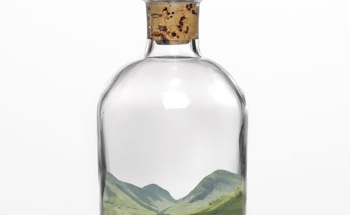 瓶の中の世界
