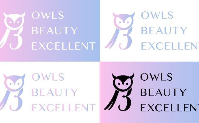 社労士法人様の美容系サービスロゴ