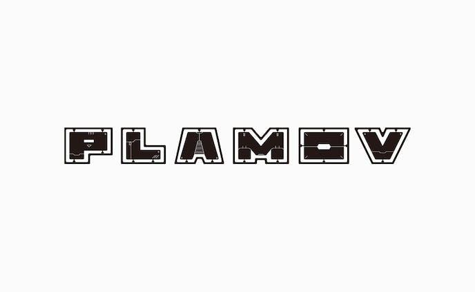 PLAMOV Logo design