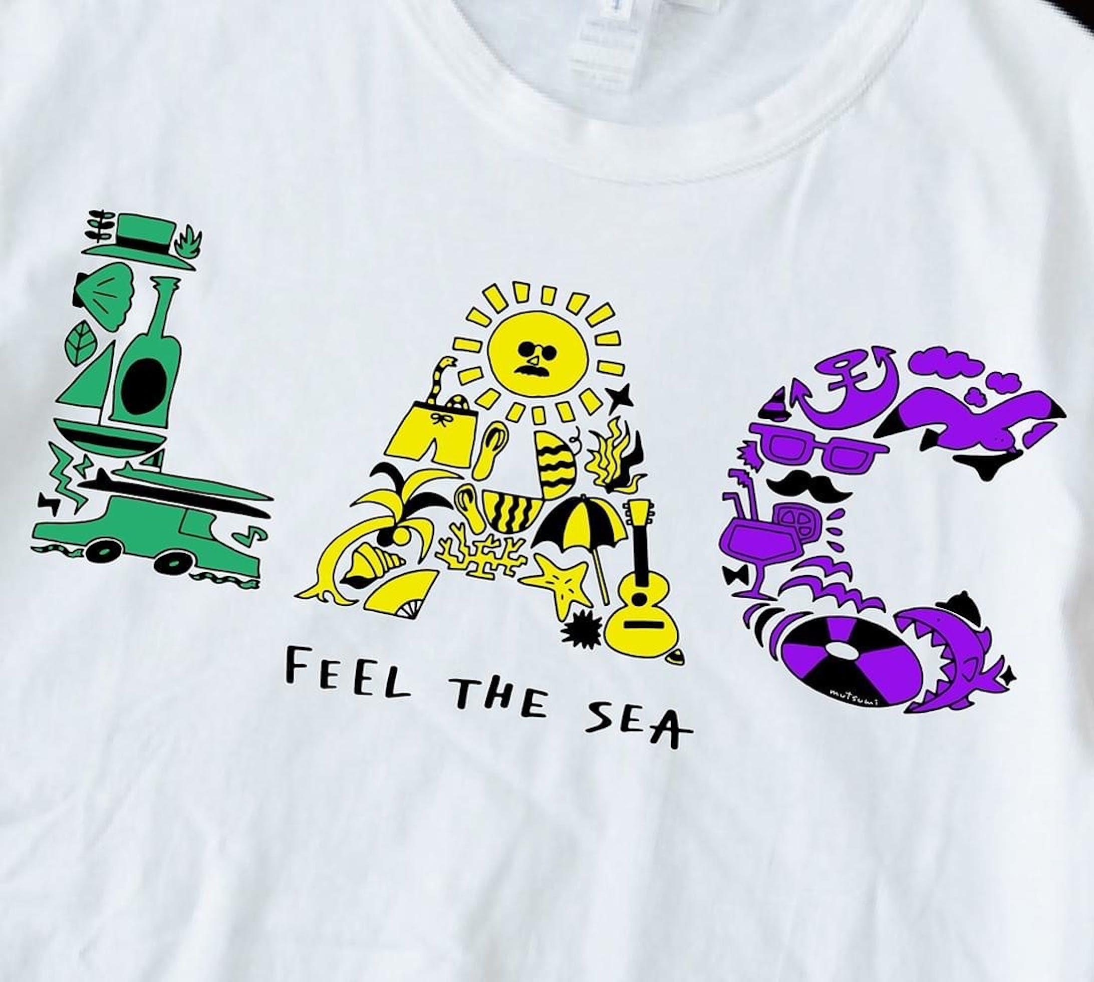 塗り絵Tシャツ - NURIE TEE --5