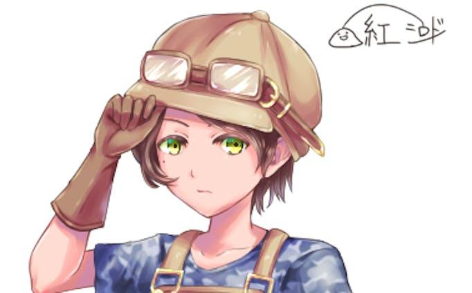 キャラクターデザイン 少年?少女?
