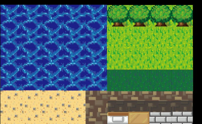 RPGゲーム用ドット絵素材
