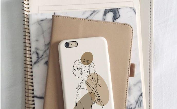 【iPhoneケース】おしゃれlady