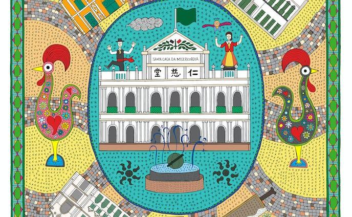 Macau Mandala | Largo do Senado