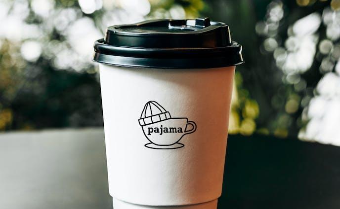 個人コーヒー店 ロゴ