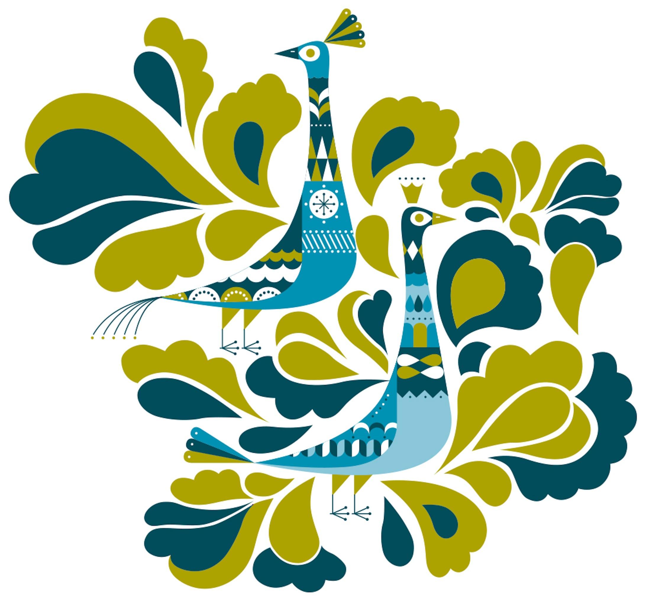 ル・クルーゼ Peacock Palette-3