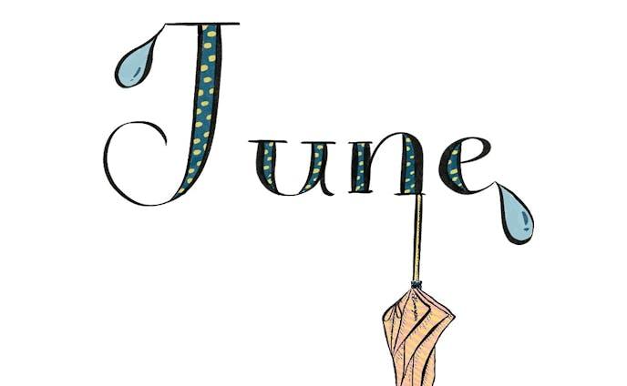 6月のイラスト