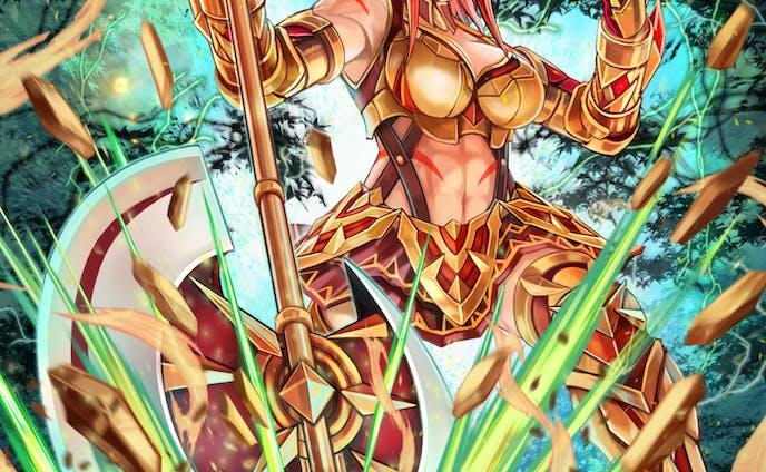 大斧使いのアマゾネス