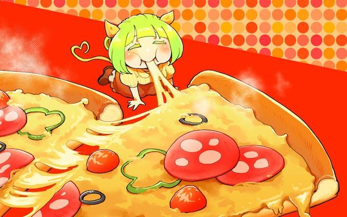 お腹いっぱい食べる子ちゃん9