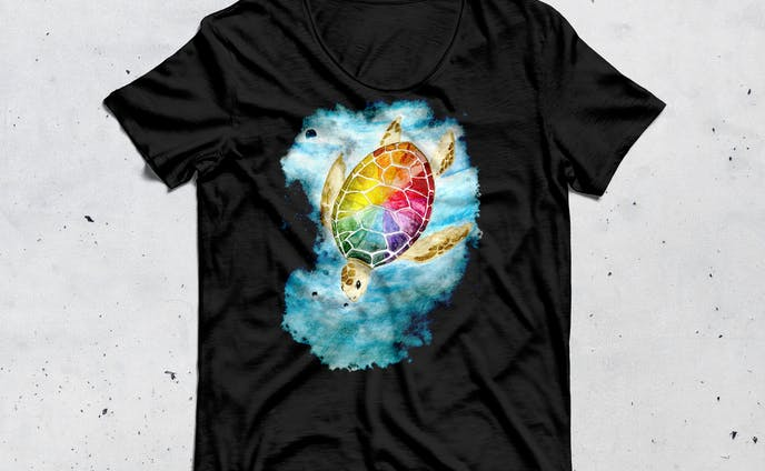 T-shirt: Turtle