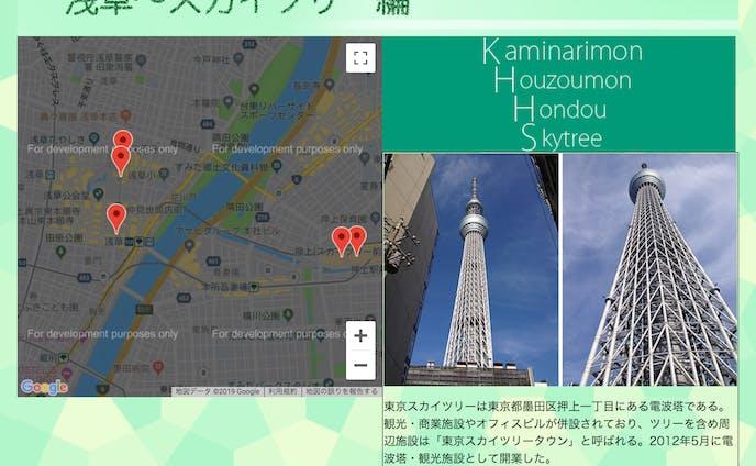 東京で遊んだところ紹介サイト
