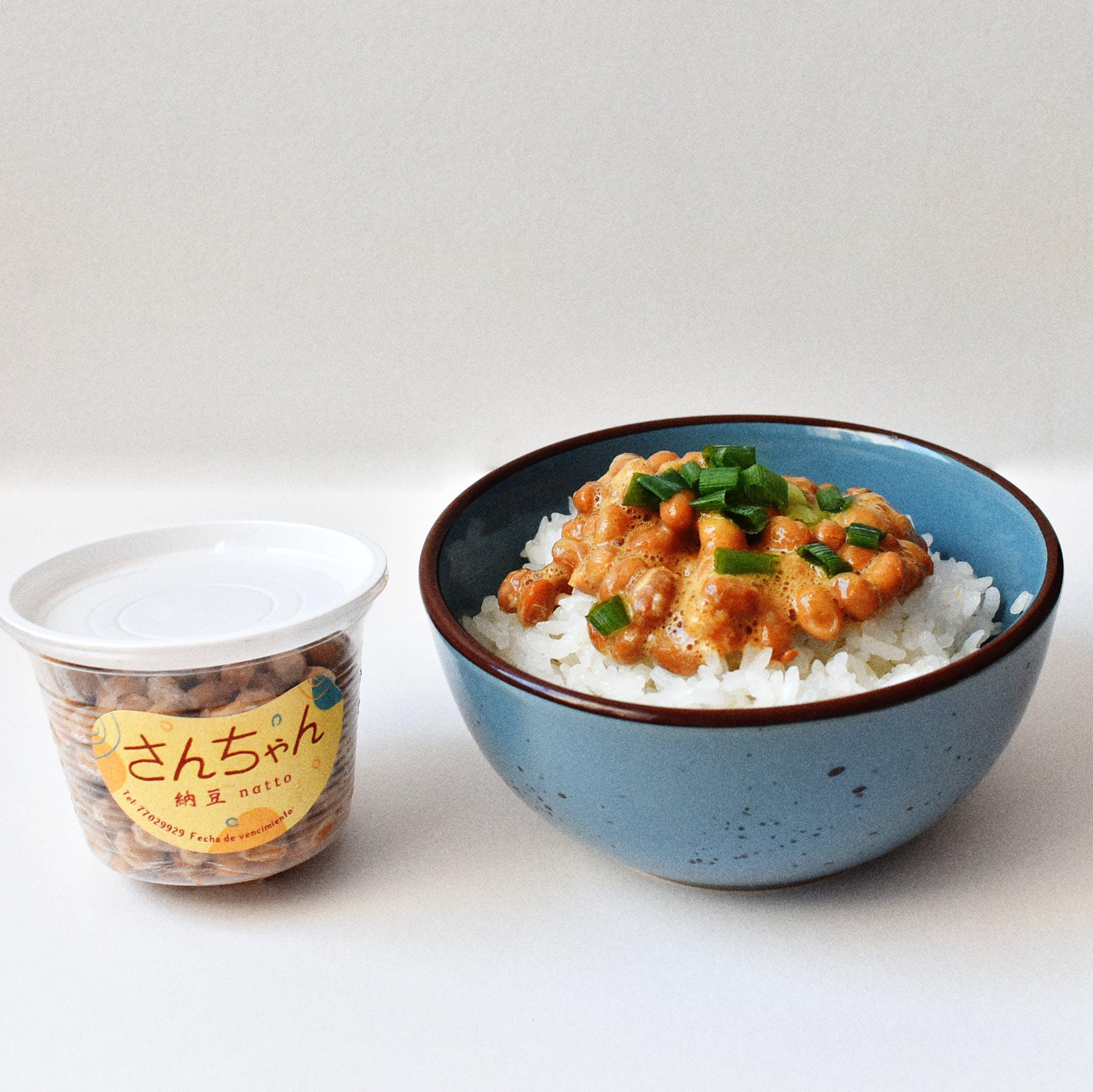 さんちゃん 納豆のステッカー-3