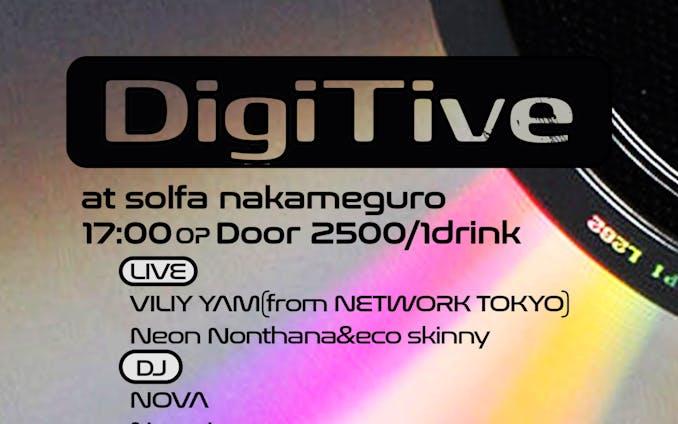 フライヤー作成  DigiTive Live