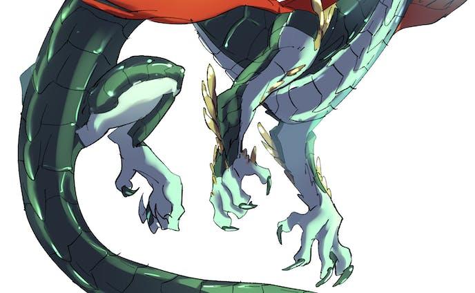 ドラゴン作例