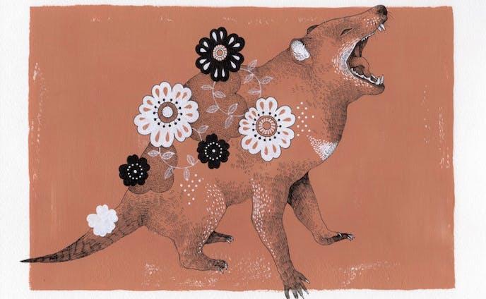 強さに花飾りを〈タスマニアデビル〉