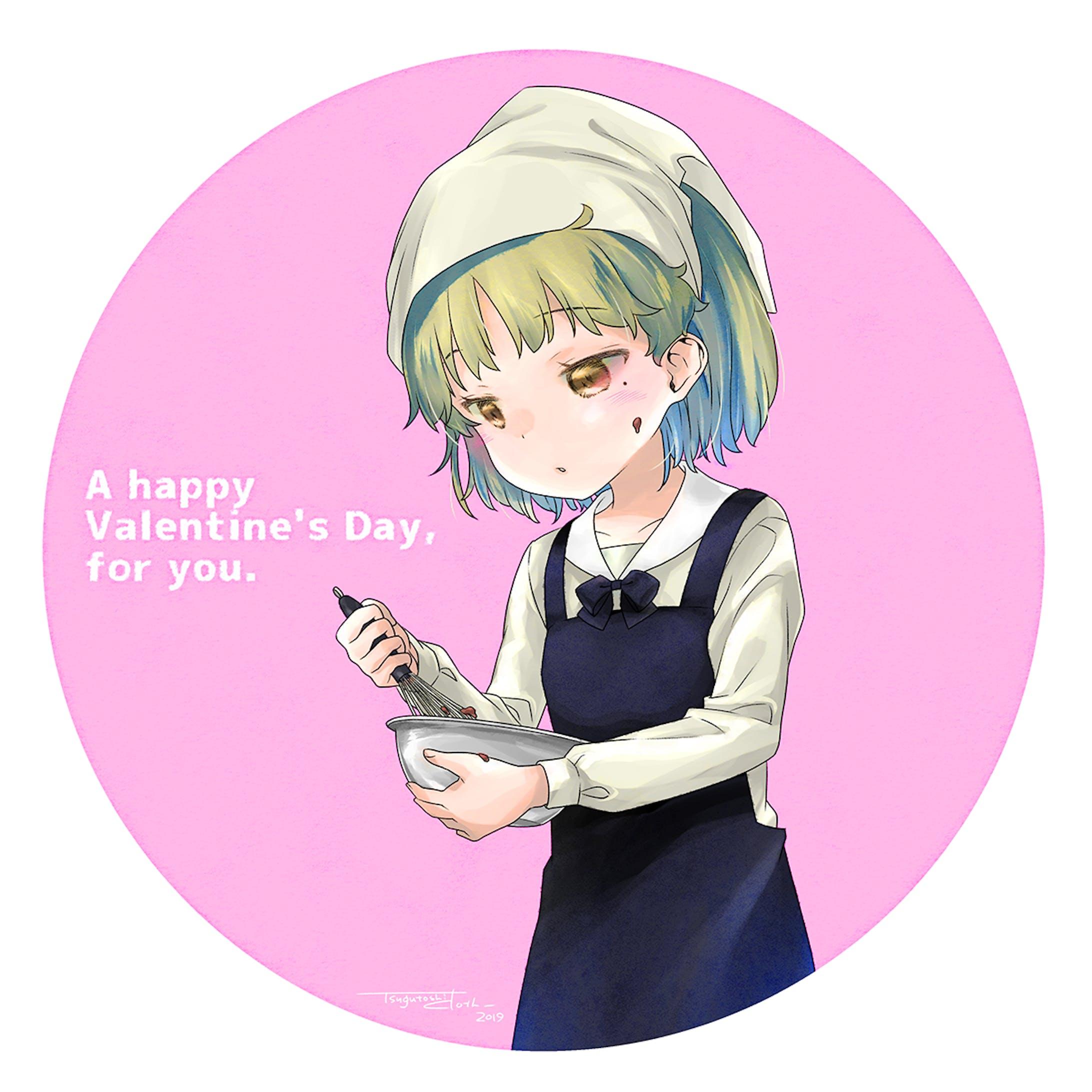 バレンタイン鳩羽つぐ2019-1