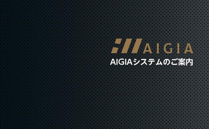 株式会社AIGIA様 システム案内リーフレット