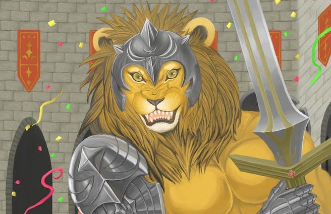 結盟のライオン騎士