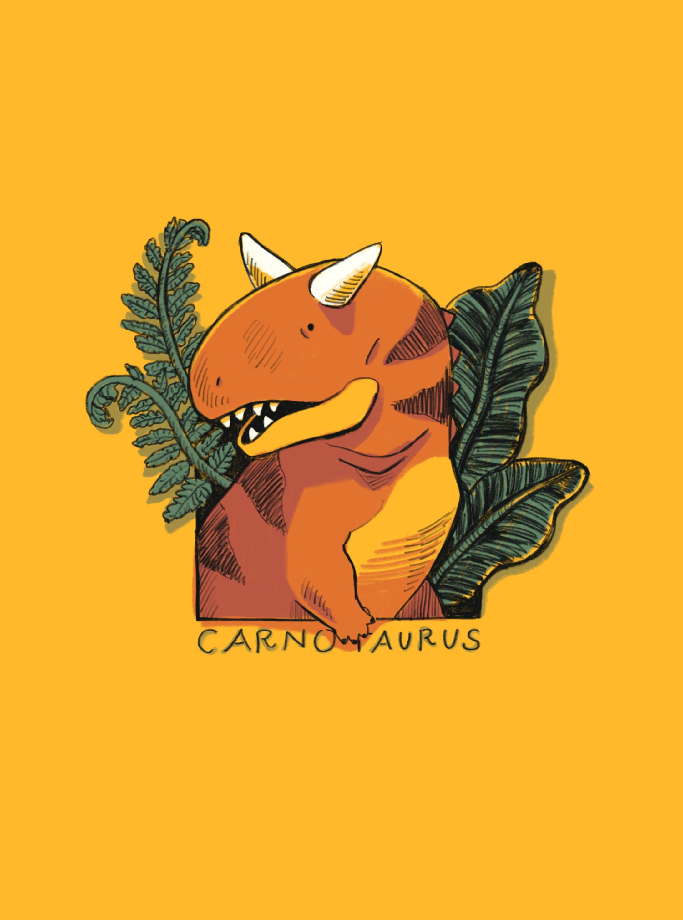 カルノタウルス(iPhoneケース)-1