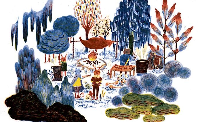 マソプスト祭り中「the lost spring」