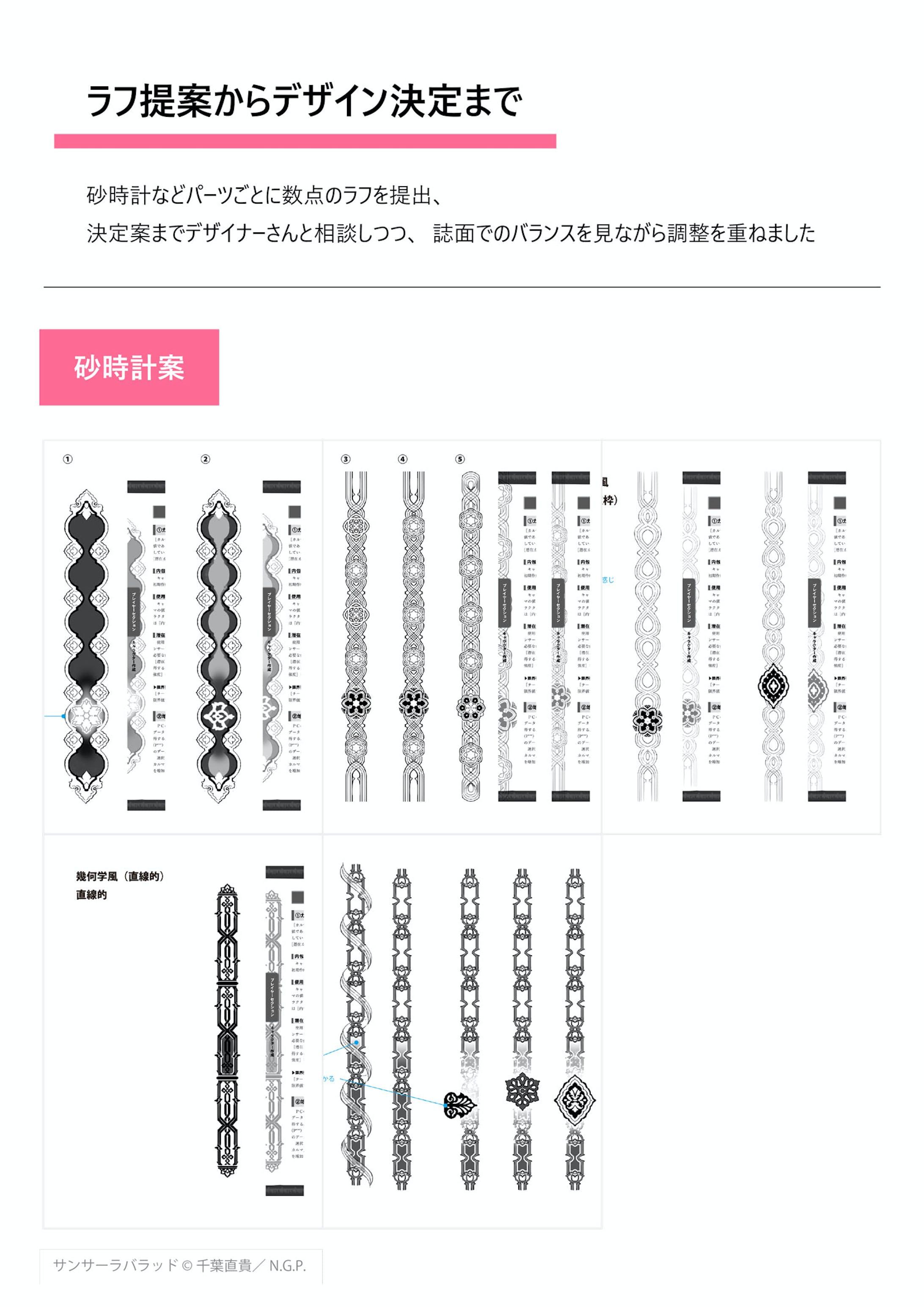 異世界転生RPG サンサーラ・バラッド - 誌面デザイン-3