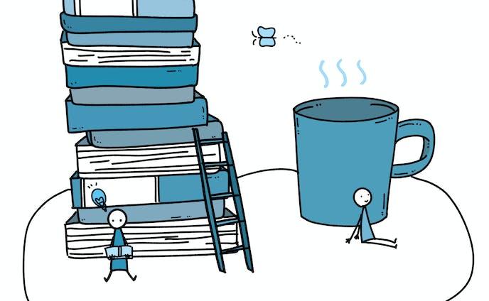 書籍の挿絵に合いそうなイラスト