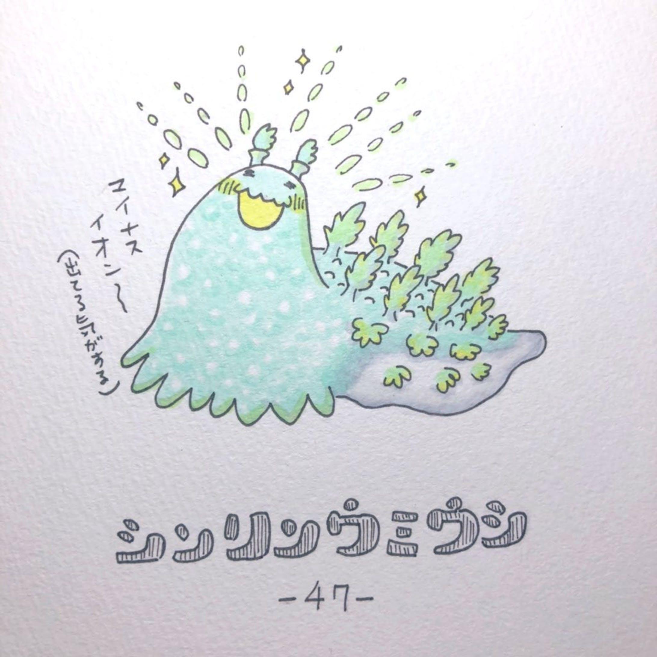 #毎日ゆるかわウミウシ(15〜60)-35