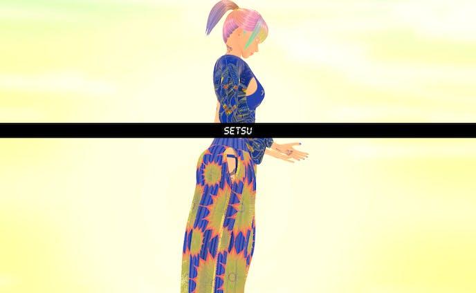 -Setsu-Original 3D Avatar