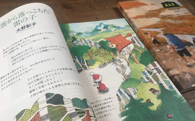 A&Fカントリー カタログ巻頭編集ページ