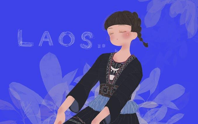 ラオス民族衣装