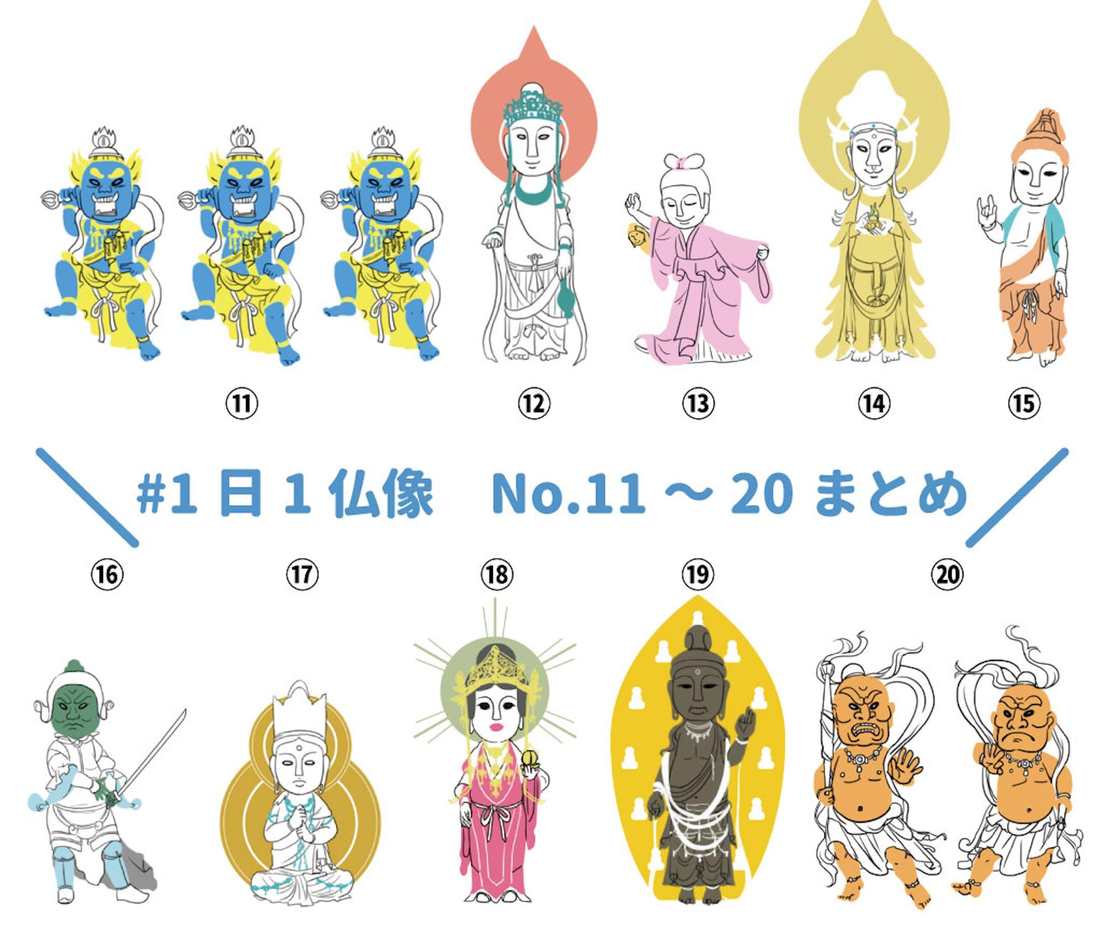 1日1仏像まとめ-3