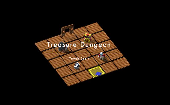 ローグライクRPG『Treasure Dungeon』