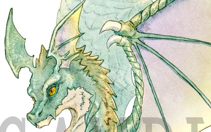 ドラゴンキャラクターデザイン