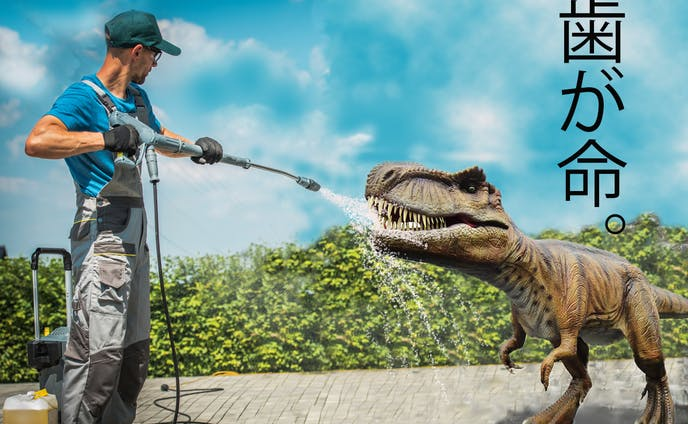 恐竜も歯が命