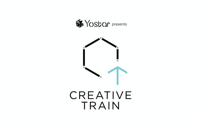 Yostar presents CREATIVE TRAIN