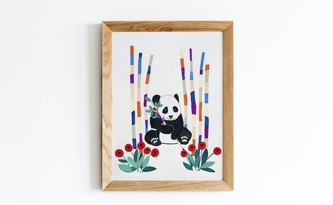 原画 -パンダの秘密基地-