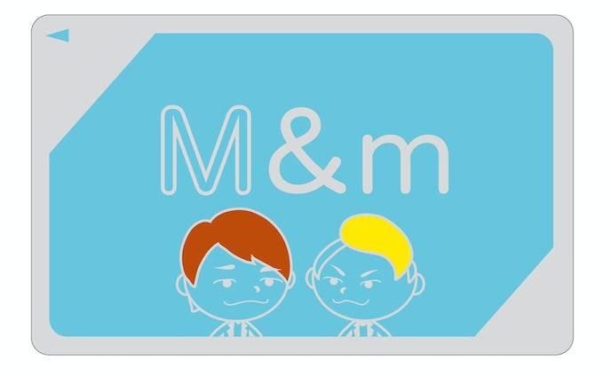 ステッカー『M&m』