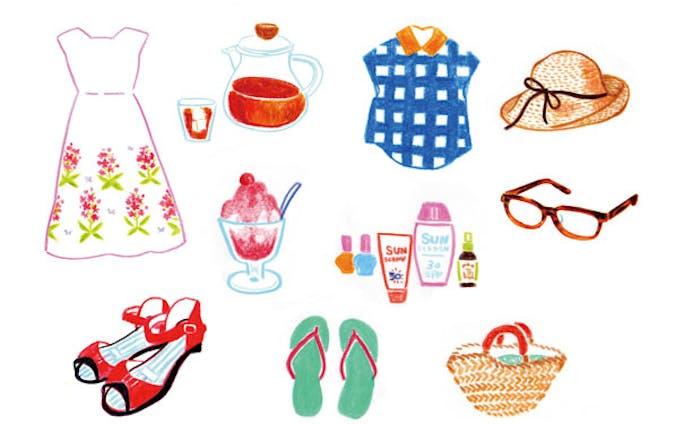 夏のファッション雑貨