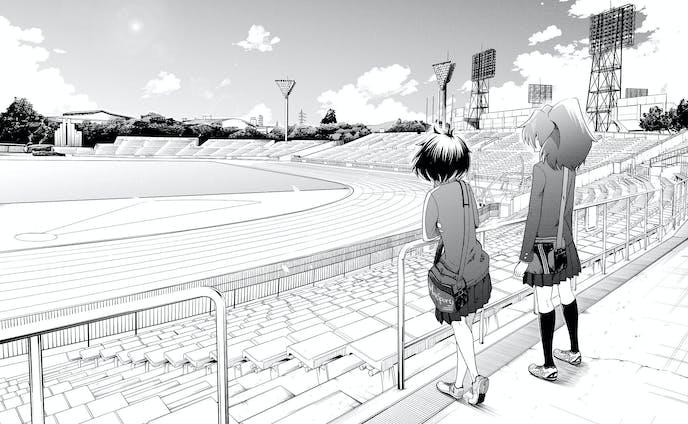 自作漫画「京走乙女」背景集