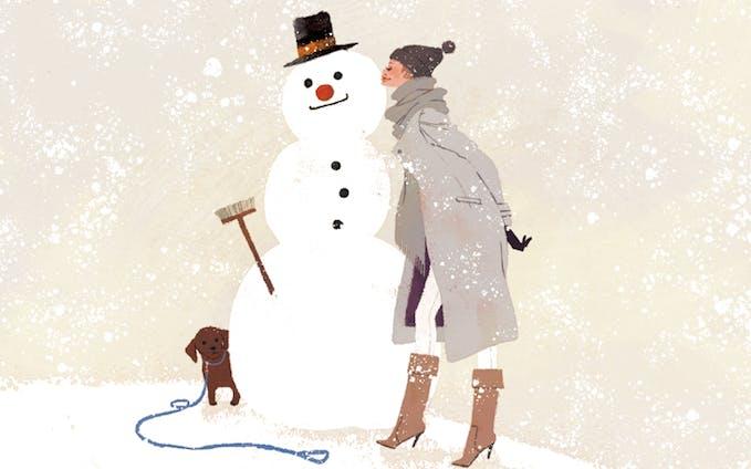 SnowMan&Woman