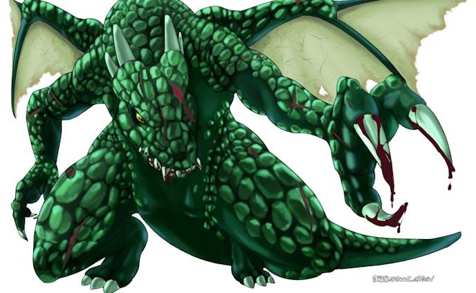 ゲーム素材 ドラゴン