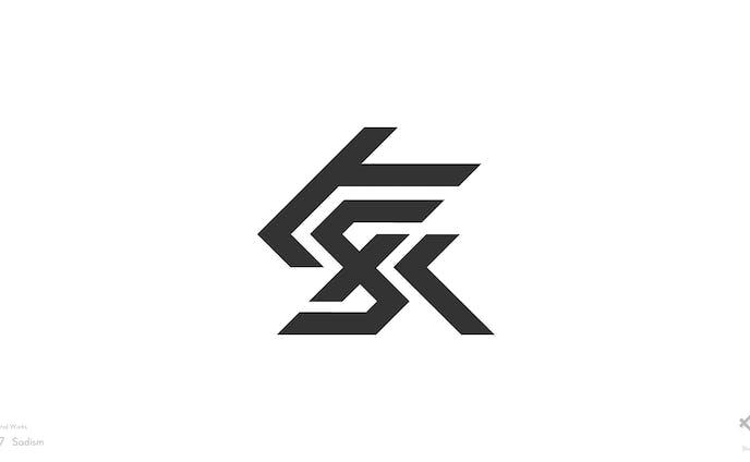 BOFXV「Sっ気が強い」チームロゴデザイン