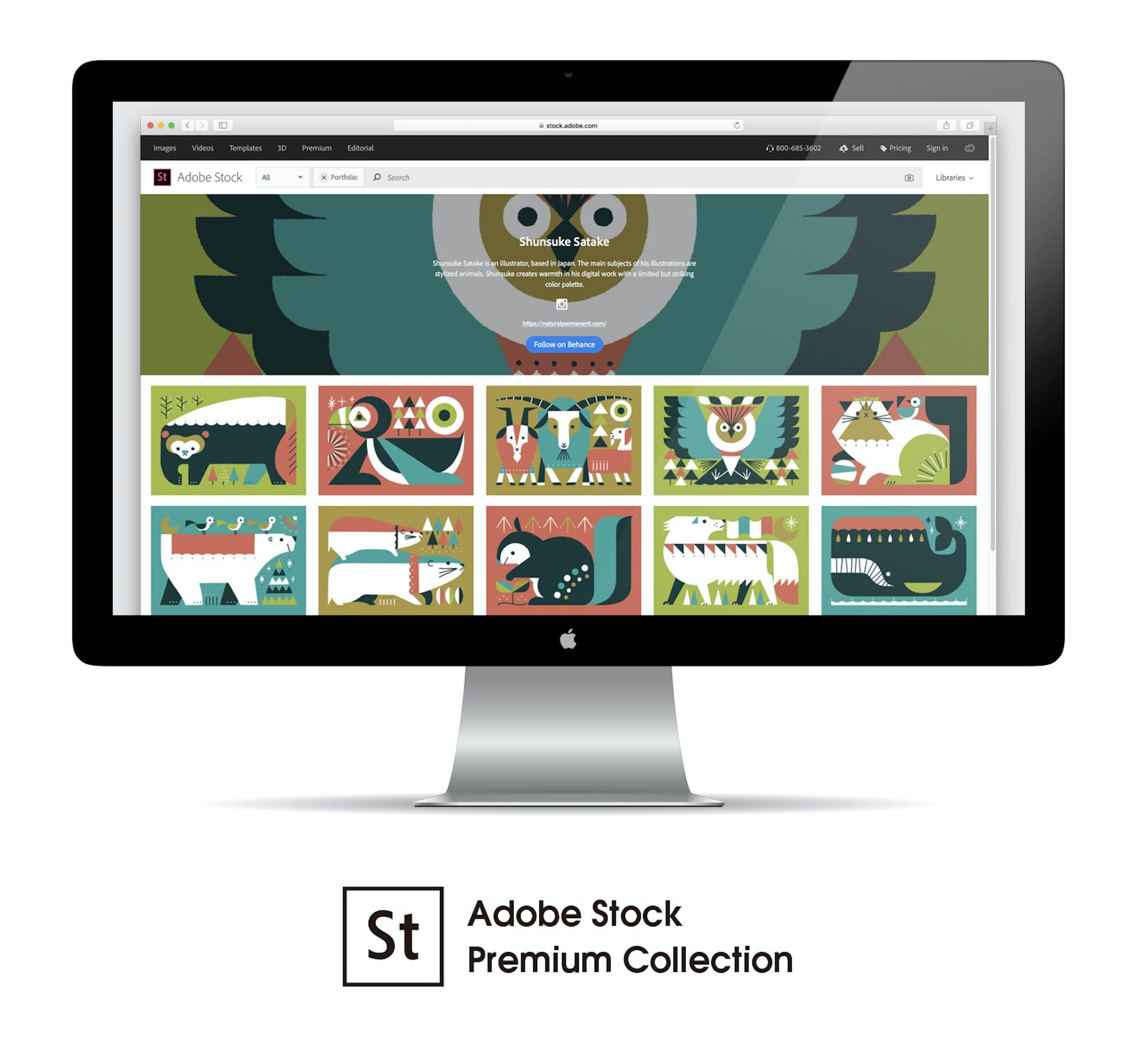 Adobe Stock プレミアムコレクション-1