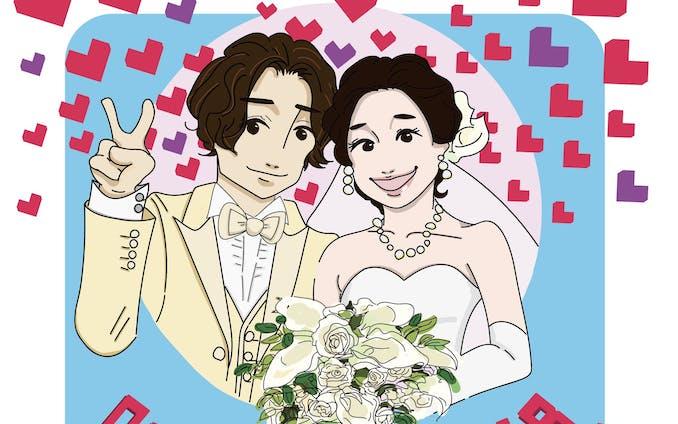 日常イラスト|結婚式&誕生日おめでとう