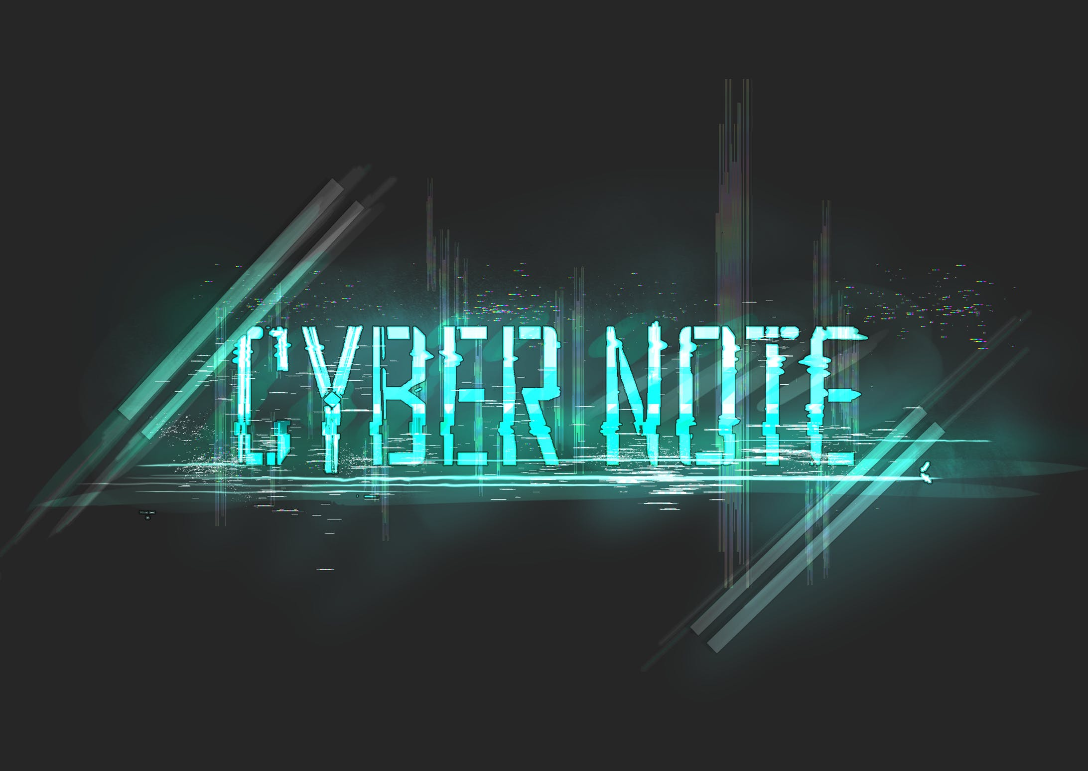 SYBERNOTE ーー同人ゲームタイトル作成-1