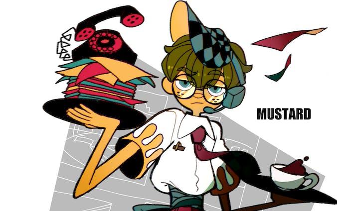 キャラクター1~8