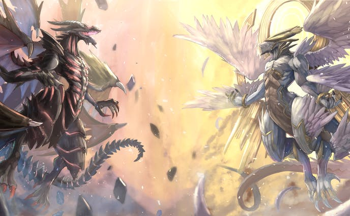 天使竜・悪魔竜