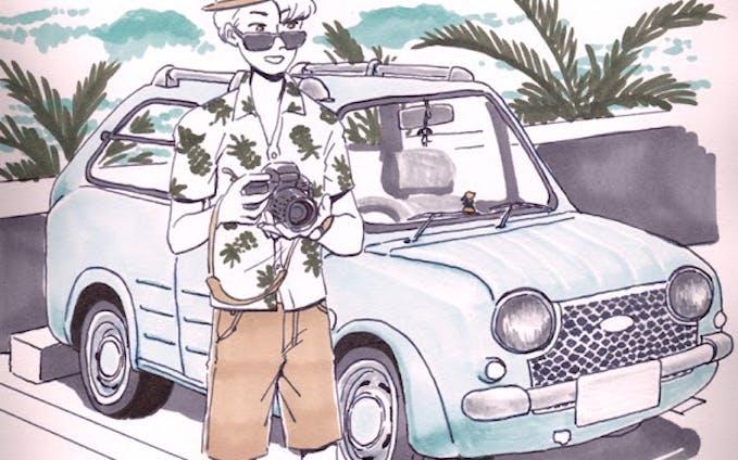 マニア向け車イラスト描きます
